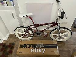 Skyway Street Beat BMX 1985 Old School SR Haro Torker Mongoose Redline PK Ripper