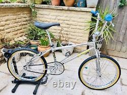 Stunning Mongoose Californian 1983 Old school Bmx, Pro Class Wheels And Brakes