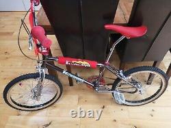 Stunning Old School Tange Kuwahara Nova 1983 Japan. Smoked chrome BMX bike