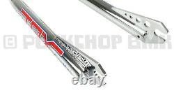 Tange TRX 1 threaded old school BMX chromoly oval fork for 20 wheel CHROME