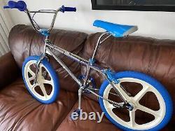 Torker 2 Freesyler Chrome 1987 NOS BMX. Old School Redline Haro Skyway Odyssey