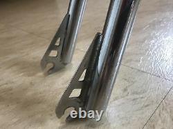 Vintage 1985 GT Mach One Frame & Fork 4130 Chrome Old School BMX Freestyle