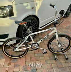 Vintage, retro old school BMX, Kuwahara, Raleigh Burner, Mongoose era1980s bike