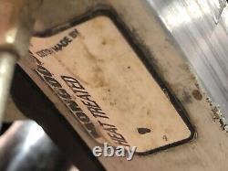 Vtg Mongoose Menace 24 Cruiser Old Mid School BMX Chrome Mid 1990s DK TEKTRO
