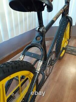 Vtg Old School 1981 Mongoose Motomag BMX Race 20 Bike, 80's Original Survivor
