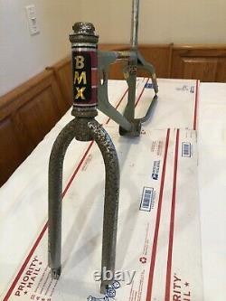 Vtg Old School 70's Mongoose BMX Racing Team Frame & Tange TX 500 BMX Fork Kit