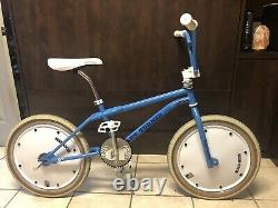 1987 Gt Performer Vintage Old School Bmx 20 Bike Bicycle Pro Freestyle Dyno
