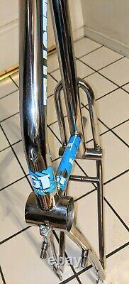 1987 Gt Pro Freestyle Tour Frame & Fourche Chrome Ancien Collège Bmx Vintage Vélo