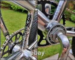 1994 Ammaco Frestyler 100% Chrome Lowrider Bmx Vieille École Vélo Haro Gt Skyway