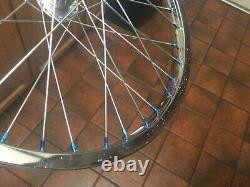 Araya 7x Rims Hoops 36h Stell Chrome Phil Hubs Mongoose Oldschool Bmx