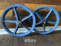 Blue Skyway Tuff 1 Wheels 20 Old School Bmx Mongoose Hutch Gt Redline