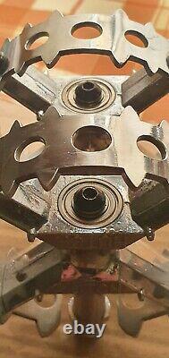 Bmx Hutch Pro Taille Pédales 9/16 Original 1980s Old School Bmx