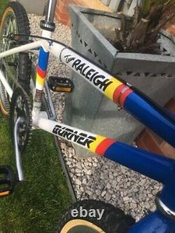 Équipe Aero Pro Raleigh Burner Bmx Old School Bmx