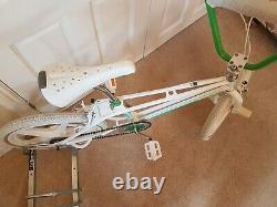 Falcon Prostyler Freestyle Bmx Old School Bmx Twin Tube 901 Skyway Rare! 80 Ans