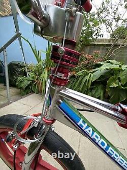 Haro Freestyler 83 Chrome Rare Vieille École Bmx Skyway Dia Compe Redline Sugino