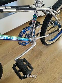 Haro Freestyler Old School Bmx En 1983. Vieux Vélo De Bmx, Bmx De Haro