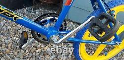 Mk2 Raleigh Bmx Old School Bmx Raleigh Brûleur Vélo Rétro Vintage Bike Années 1980