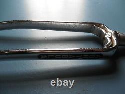 Nos 76 Chrome Stamped Ashtabula Fourches Bmx Old School