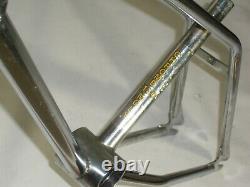 Old School 1979 Torker 20 Pouces Bmx Cadre De Vélo Chrome