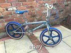 Old School Bmx 1983 Haro Freestyler Ultimate Rad Skyways Vector Torker Construit