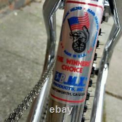Old School Bmx 1983 Mongoose Supergoose 3 Ultimate Rad Pro-class MX Comp 3 Izumi