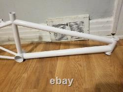 Old School Bmx 1994 Elf Pro XL Cadre 1 Tube De Tête Cantilever Freins Vintage Rare