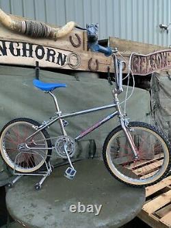 Old School Bmx Mongoose 10th Anniversary Pro Class 1984 Vélo Rare Entièrement Chargé