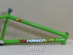 Old School Powerlite P61 Bmx Bike Frame, Septembre 1992, Xl, Vert
