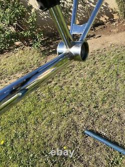 Old-school Bmx Hutch 24 Frame Se Landing Gear Fork Cruiser Gt Dyno Bars 83/84