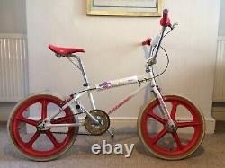 Original Des Années 80 Old Skool School Retro Mongoose Bmx Bike