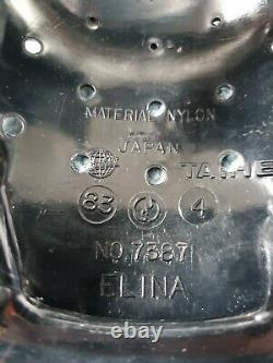 Original Super Rare Taihei Black Elina Lightning Bolt Seat 83 Old School Bmx 80s