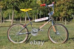 Patterson Racing Bmx Pr200 Vélo 1983/1984 Oldschool Avec Elina Siège Tuf Neck
