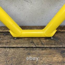 Poignées De Chariot Élévateur Redline Old School Bmx Jaune Bars + Poignées Levier Nos