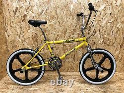 Raleigh Burner 1984 Custom Bmx, Retro, Old School, Mag Wheels, Sr, Dia Compe