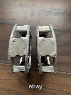 Sr 474 Pedals 1/2 Avec Original Sr Spindles Old School Bmx Gt Mongoose Hutch Rare