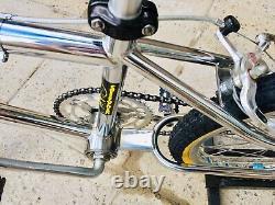 Superbe Mongoose Californien 1983 Old School Bmx, Pro Class Wheels And Brakes