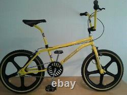 Vélo Bmx Old School. Gt Eddie Fiola Réplique