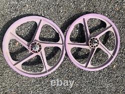 Vieille École 20 Radberry Peregrine Master Graphite Wheels Bmx Holy Graal Gt Hutch