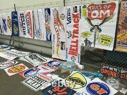 Vieille École Bmx Banner Any 7 VDC Hutch Gt Se Course