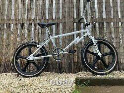 Vieille École Bmx Cw Course Phaze 1 2020 Blanc Complete Bike
