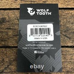 Vieille École Bmx Sugino Maxy Crank Set 3pc 171mm Red Wolf Dent Bolts