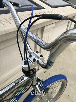 Vintage Gt Vertigo Bmx Vieille École Freestyle Vélo Chrome Dyno Vélo 26t