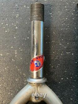 Vintage Pro Neck Bmx 24 Fourches Début Des Années 1980 Old School Original Redline Gt
